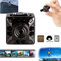 Мини камера SQ10 FULL HD С ночной подсветкой и датчиком движения