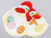 Декоративная подставка для яиц 22см Курочка BonaDi EG10-D19
