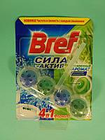 Bref - Туалетные блоки для унитаза Сила Актив (Хвойная свежесть) 50 гр