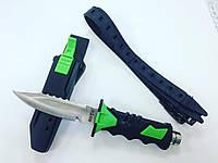 Нож для дайвинга Аквалангист