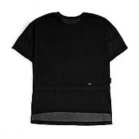 Fusion Футболка Ribbed Black T-Shirt