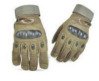 Тактические перчатки Oakley полнопалые (Олива)