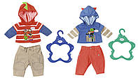 Набор одежды для куклы BABY BORN - АКТИВНЫЙ МАЛЫШ (2 в ассорт., цена за 1 ед.)