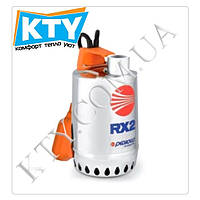 Дренажный насос Pedrollo RX (для загрязненной воды, трехфазный, нержавеющая сталь, поплавковый выключатель) Модель: 3;