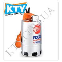 Дренажный насос Pedrollo RX-VORTEX (для загрязненной воды, трехфазный, нержавеющая сталь, поплавковый выключатель) Модель: 4/40;