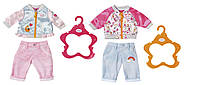 Набор одежды для куклы BABY BORN - СПОРТИВНИЙ КЭЖУАЛ  (2 в ассорт., цена за 1 шт.), фото 1