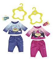 Набор одежды для куклы BABY BORN - ВЕЧЕРНЯЯ ПРОГУЛКА (2 в ассорт., цена за 1 ед.)