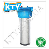 Фильтр-колба для очистки воды Bio+ systems SL10-3K (3-х компонентная) Диаметр подключения: 1/2 дюйма;