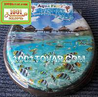 """Адаптер-сиденье мягкое с крышкой для унитаза Aqua Fairy """"Мальдивы"""""""