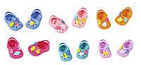 Обувь для куклы BABY BORN - КРАСОЧНОЕ ЛЕТО (6 в ассорт., цена за 1 пару)***