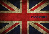 Обложка на паспорт Британский флаг
