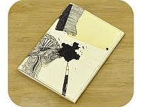 Обложка на паспорт Художественная клякса + блокнотик