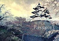 Обложка на паспорт Цветение сакуры