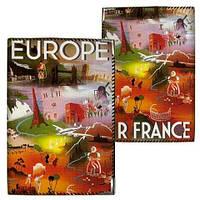 Обложка для автодокументов Европа на ладони