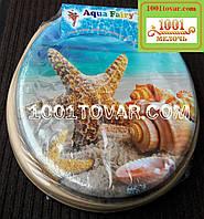"""Адаптер-сиденье мягкое с крышкой для унитаза Aqua Fairy """"Звездочка и ракушка"""""""