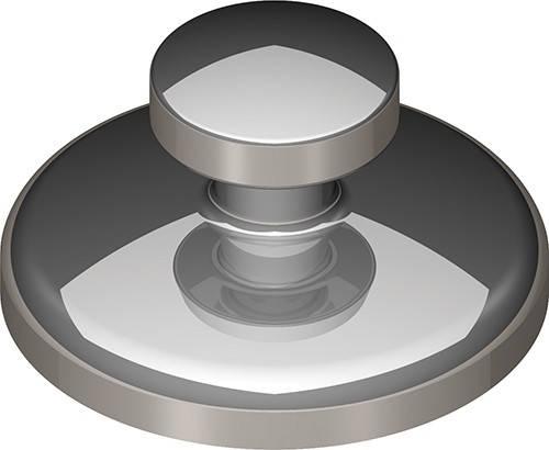 Лингвальная кнопка (круглый базис)