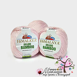 Пряжа Делюкс бамбу Deluxe Bamboo Himalaya, № 124-06, нежно-розовый