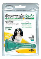 Капли от блох и клещей для собак 2-10кг Фронтлайн Комбо 1пипетка