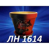 Вазон 2л Керамічний ЛН-1614 Сл.