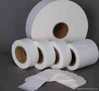 Бумага для чая ширина 110 мм плотность 18г/м2, 22г/м2