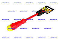 Отвертка Mastertool - диэлектрическая крестовая PH2 х 125 мм, 1000 В