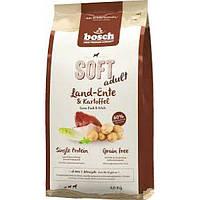 Корм для собак Bosch SOFT Land-Ente & Kartoffel ( Деревенская утка+картофель), 1кг