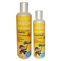 Экстрамягкий детский шампунь для купания «без слез» против спутывания волос *Jason (США)*