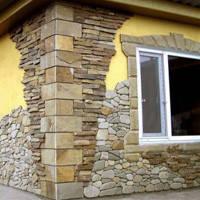 Облицовка плоским камнем