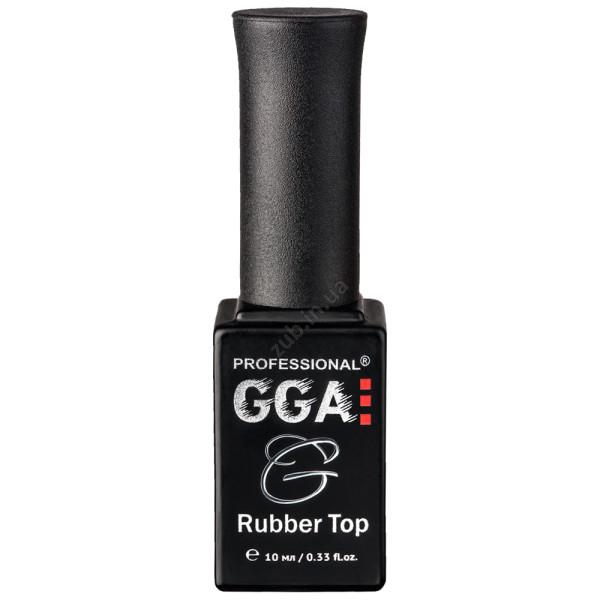 Каучуковый топ для гель лака GGA Rubber Top 10 мл.