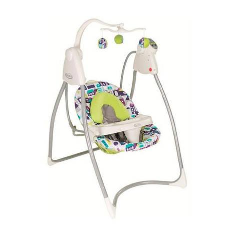 Кресло-качалка LOVIN'HUG Graco (с подключением к электросети), мульти, фото 2