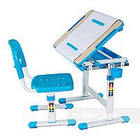 Детская парта и стульчик для дома fundesk bambino blue FUN DESK
