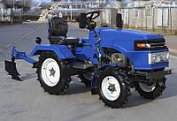 """Мототрактор """"ТА-ТА"""" ZUBR SH 150 (дизель, 15 л.с., электростартер, фреза тракторная)"""