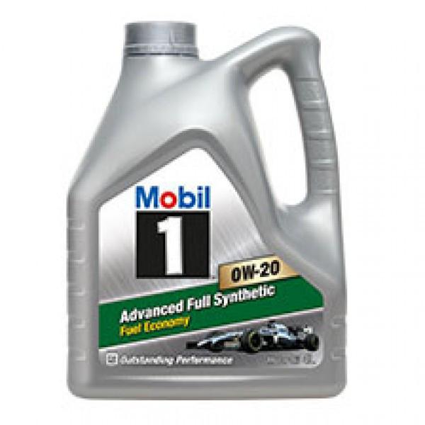 Синтетическое моторное масло Mobil 1 0W-20