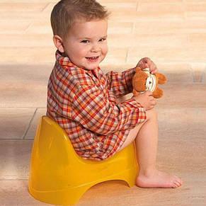 """Детский анатомический горшок """"Relax Ok Baby"""", оранжевый, фото 2"""