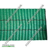 Лента текстильная для строп 8 тонн - 60 мм - 25 метров (зеленая)