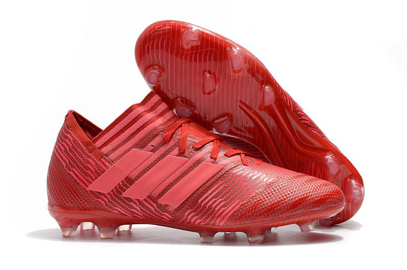 Бутсы adidas Nemeziz 17.1 FG red