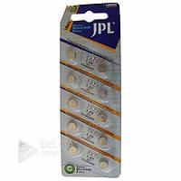Батарейка JPL AG3 LR41, 10 шт, блистер, V, 1.5В, батарейка для часов