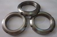 Гайка круглая шлицевая М68х2,0 DIN 981, ГОСТ 11871-88