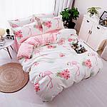 Комплект постельного белья Большой фламинго (полуторный) Berni