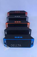 Портативная колонка bluetooth H 988, радио, встроенный аккумулятор, USB, microSD, 3.5 mini-jack, пластик, переносная блютуз колонка