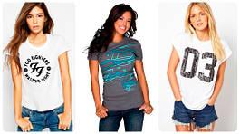 Жіночі футболки та майки оптом