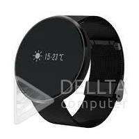 Smart часы + фитнес браслет FC006, Android 4.0 / IOS 7.0, Bluetooth 4.0, 100 мАч, IP67, экран 0,96 дюймовый сенсорный OLED, черный цвет