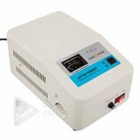 Стабилизатор напряжения LPT-W-1000RV, 700ВТ, однофазный, белый, 140В-260В, 3.5А, релейный стабилизатор