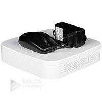 Видеорегистратор NVR Green Vision GV-N-E004/9 1080p, Linux, 1МР-2.4МР, 550x130x440мм, сетевой видеорегистратор