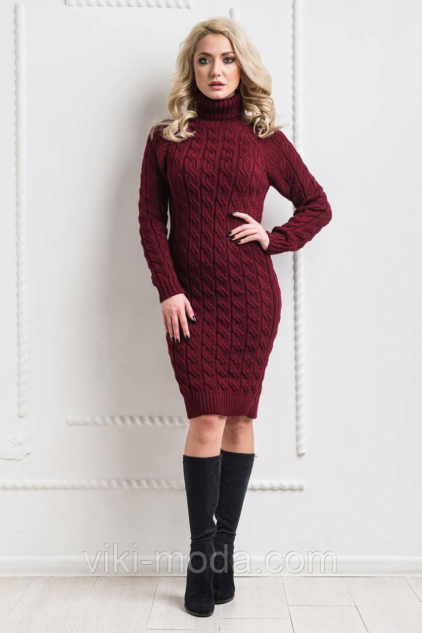Вязаное платье (100 см.)
