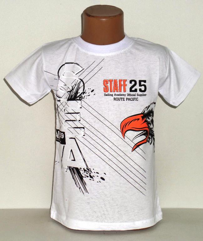 "Футболка для мальчика "" Staff 25 ""  4 года"