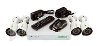 Комплект видеонаблюдения Green Vision AHD GV-K-S13/04 1080P, 1/3'' CMOS SmartSens, 1920х1080, система видеонаблюдения