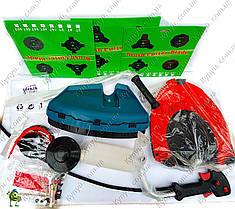 Мотокоса Spektr SGT-6100 3 ножа, 2 катушки супер  двойной ремень, фото 3
