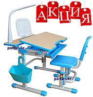 Комплект парта и стул-трансформеры Lavoro (лампа L1 и подставка), 2 цвета