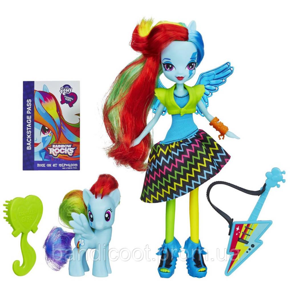 Кукла Радуга Дэш и пони Радуга Дэш – Девушки Эквестрии МЛП - My Little Pony Equestria Girls Rainbow Dash Doll